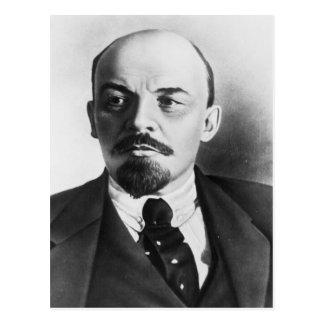 Portrait of Russian Vladimir Ilyich Lenin Postcard
