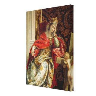Portrait of Saint Helena Canvas Print