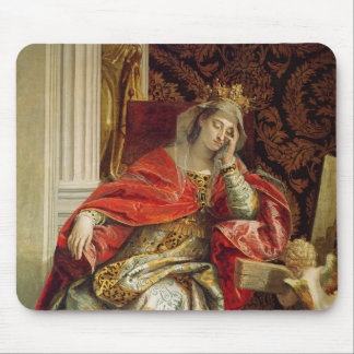 Portrait of Saint Helena Mouse Mat