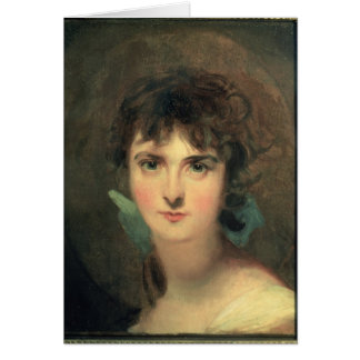 Portrait of Sally Siddons Card