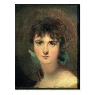 Portrait of Sally Siddons Postcard