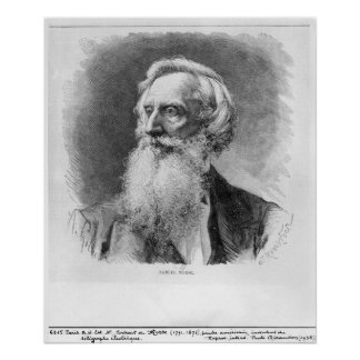Portrait of Samuel Morse Poster