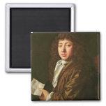 Portrait of Samuel Pepys  1666 Magnet