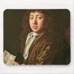 Portrait of Samuel Pepys  1666 Mouse Mat