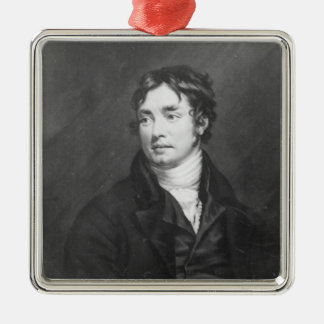 Portrait of Samuel Taylor Coleridge Christmas Ornament