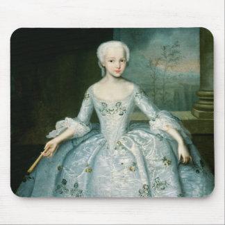 Portrait of Sarah Eleonor Fermor  1749-50 Mouse Pad