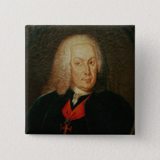 Portrait of Sebasiao Jose de Carvalho 15 Cm Square Badge