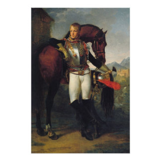 Portrait of Second Lieutenant Charles Legrand Poster