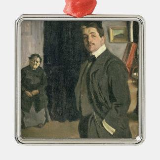 Portrait of Sergei Pavlovich Diaghilev Christmas Ornament