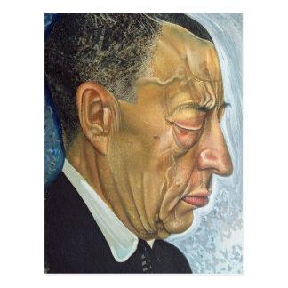 Portrait of Sergey Rakhmaninov  1930 Postcard
