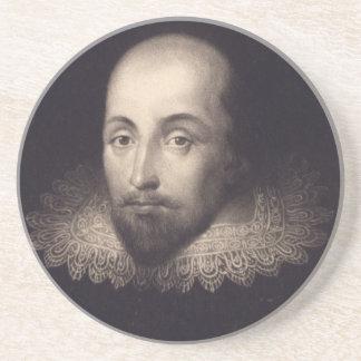 """Portrait of Shakespeare"" coaster"