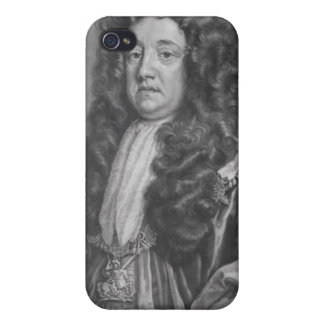 Portrait of Sidney Godolphin Cases For iPhone 4