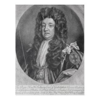 Portrait of Sidney Godolphin Postcard