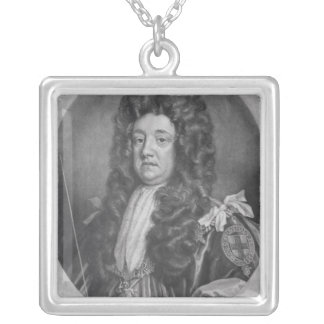 Portrait of Sidney Godolphin Silver Plated Necklace