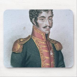 Portrait of Simon Bolivar Mouse Pad