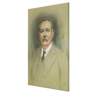 Portrait of Sir Arthur Conan Doyle Canvas Print