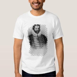 Portrait of Sir Christopher Hatton Tshirt