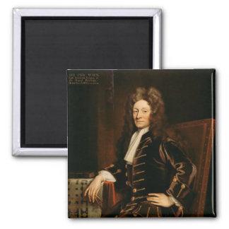 Portrait of Sir Christopher Wren  1711 Magnet