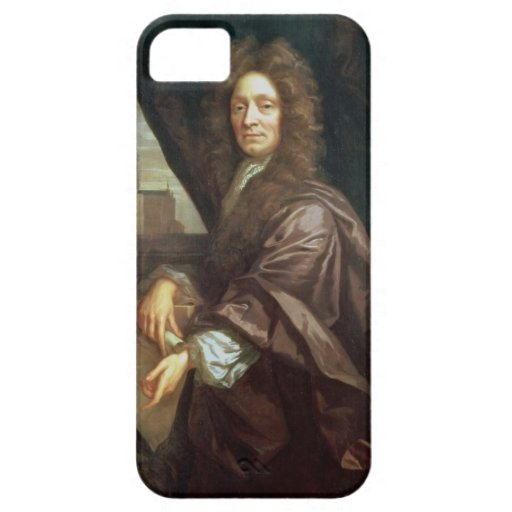 Portrait of Sir Christopher Wren (oil on canvas) iPhone 5 Cases