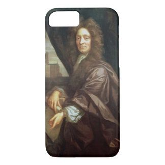 Portrait of Sir Christopher Wren (oil on canvas) iPhone 8/7 Case
