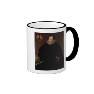Portrait of Sir Francis Drake  1591 Mug