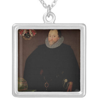 Portrait of Sir Francis Drake  1591 Necklace