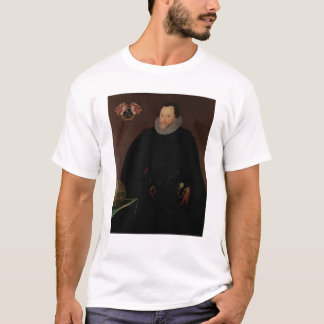 Portrait of Sir Francis Drake  1591 T-Shirt