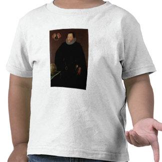 Portrait of Sir Francis Drake  1591 Tee Shirt