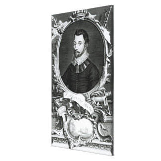 Portrait of Sir Francis Drake Gallery Wrap Canvas