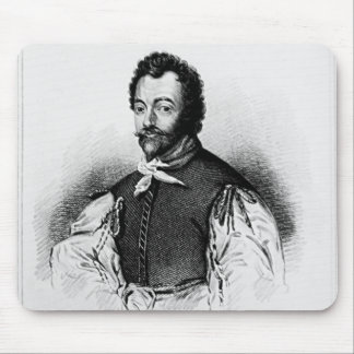 Portrait of Sir Francis Drake Mouse Pad