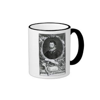 Portrait of Sir Francis Drake Mugs