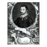 Portrait of Sir Francis Drake Postcard