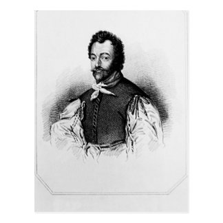 Portrait of Sir Francis Drake Postcard