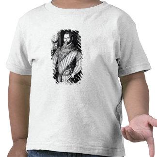 Portrait of Sir Francis Drake T Shirts