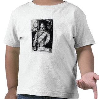 Portrait of Sir Francis Drake Tee Shirts