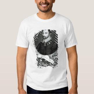 Portrait of Sir Francis Drake Tshirts