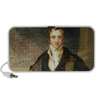 Portrait of Sir Humphry Davy Laptop Speakers