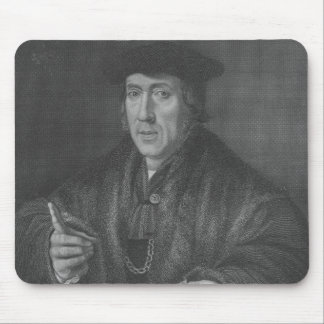 Portrait of Sir John More , engraved by W.T.Mote Mouse Pads