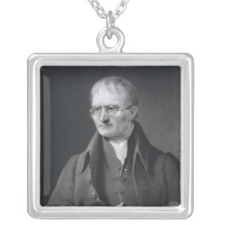 Portrait of Sir Joseph Thomson Silver Plated Necklace