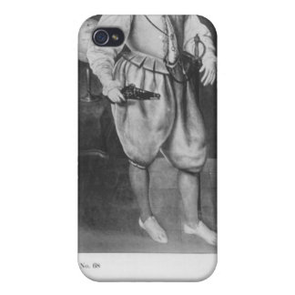 Portrait of Sir Martin Frobisher iPhone 4 Covers