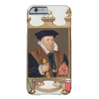 Portrait of Sir Nicholas Bacon (1509-79) from 'Mem Barely There iPhone 6 Case