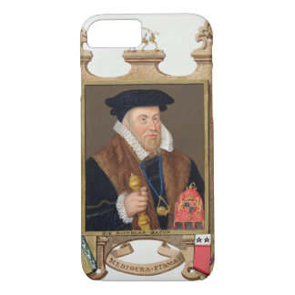 Portrait of Sir Nicholas Bacon (1509-79) from 'Mem iPhone 7 Case
