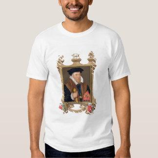 Portrait of Sir Nicholas Bacon (1509-79) from 'Mem Shirts