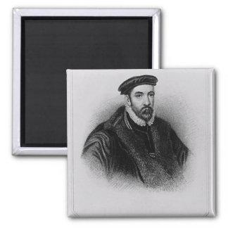 Portrait of Sir Nicholas Bacon Magnet