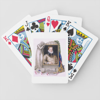 Portrait of Sir Philip Sidney (1554-86) from 'Memo Bicycle Playing Cards