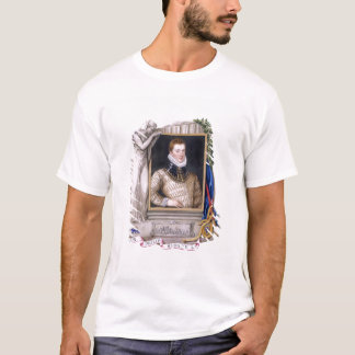 Portrait of Sir Philip Sidney (1554-86) from 'Memo T-Shirt