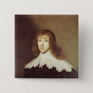Portrait of Sir Ralph Verney 15 Cm Square Badge