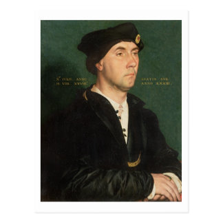 Portrait of Sir Richard Southwell (1504-64) 1536 ( Postcard