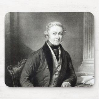 Portrait of Sir Robert Peel Mouse Mat