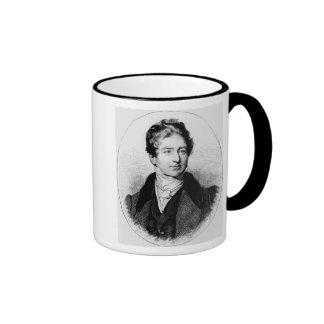 Portrait of Sir Robert Peel Ringer Coffee Mug